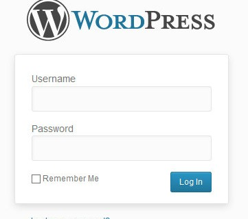 Logging into your WordPress Website