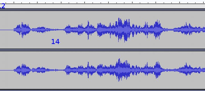 Using Audacity to Edit Sermons