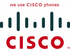 we use cisco phones
